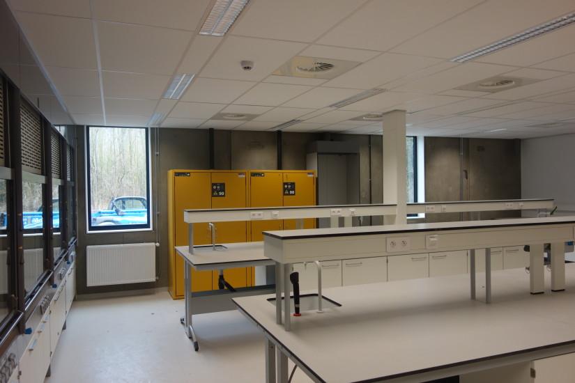 Hotel laboratory nanotechnology KU Leuven, Leuven