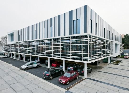 hoofdzetel TMVW Gent met slimline vloersysteem