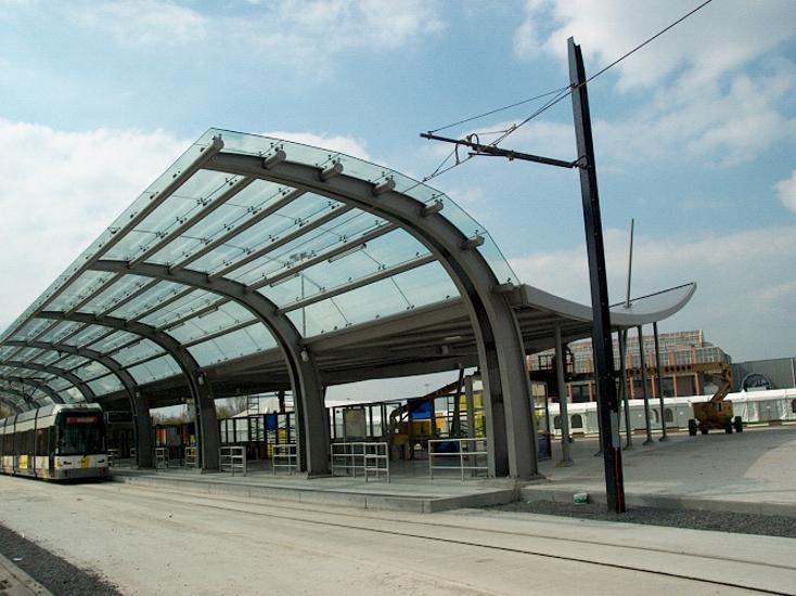 Haltegebouw Flanders Expo De Lijn, Gent