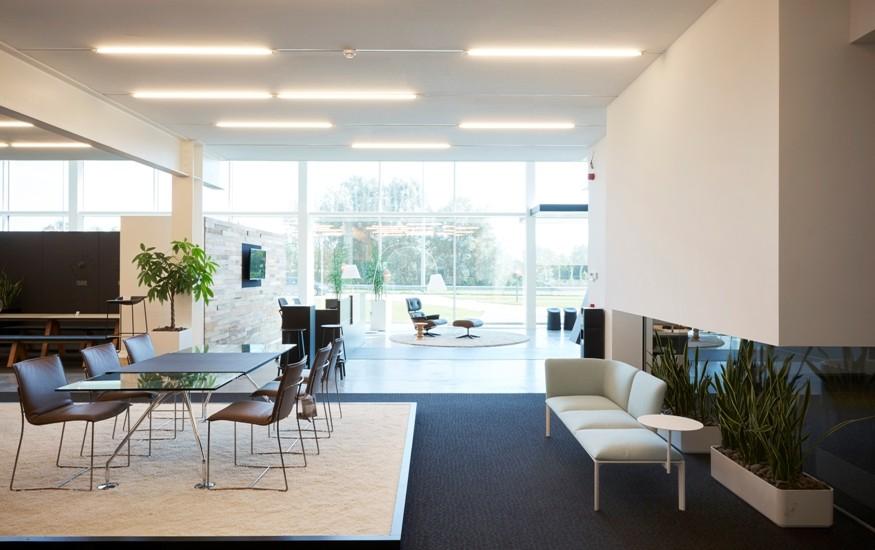 commercial building buro modern waregem