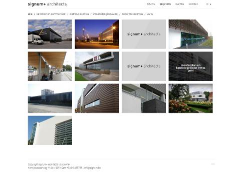 Nieuwe Website Van Signum Architects Online