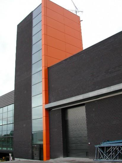 Uitbreiding productiehal BarcoNet, Kortrijk