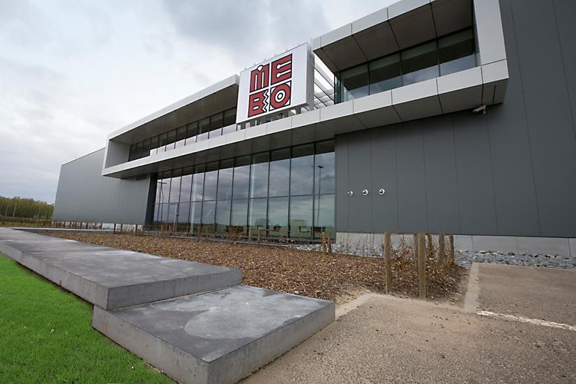 bedrijfsgebouw Mebo Construct, Lokeren