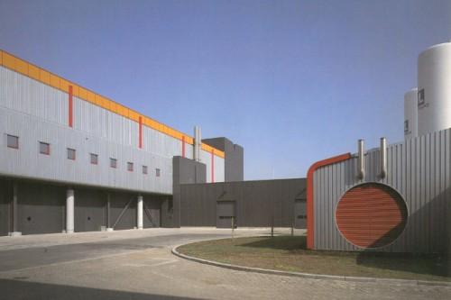Productiehal en kantoren Mietec