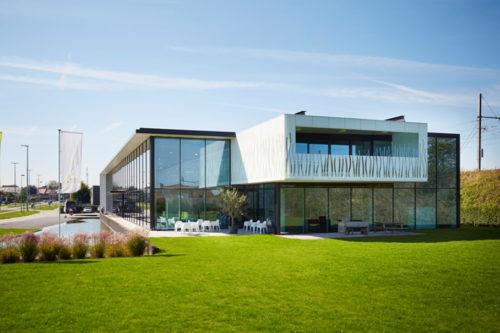Bedrijfsgebouw Buro Modern, Waregem