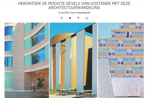 Feeling: het maritiem onderzoekscentrum opgenomen in architectuurwandeling Oostende