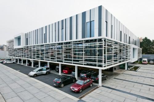 Masterplan en kantoorgebouw TMVW, Gent