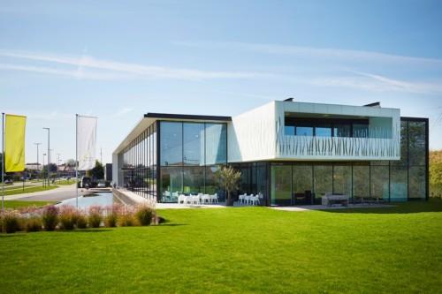 Commercial Building BuroModern, Waregem