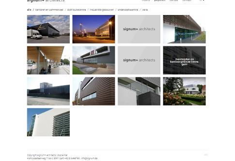 screenshot nieuwe website