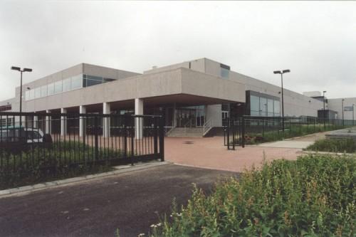 Productiegebouw BarcoView Kortrijk