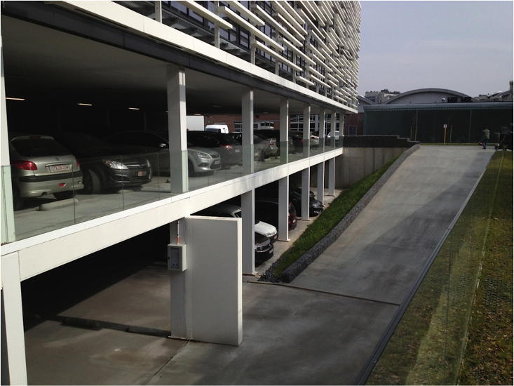 kantoorgebouw TMVW Gent