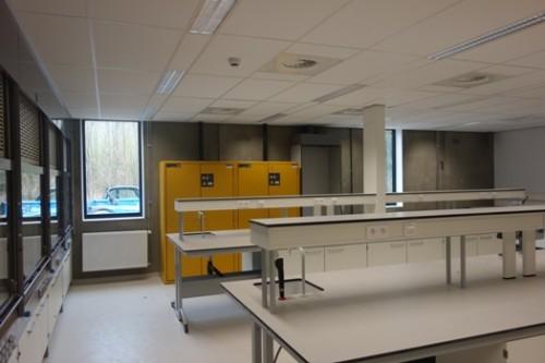 Oplevering onderzoekslabo voor nanotechnologie, KU Leuven