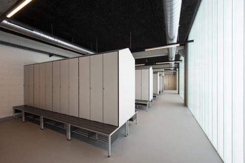 lockerrooms Volvo Group, Belgium
