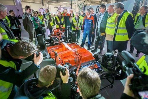Batterijassemblage Volvo Car Gent